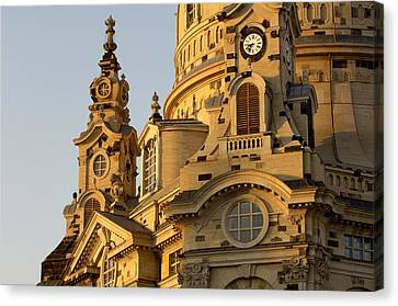 Openair Canvas Print - Germany, Saxony, Dresden, Frauenkirche by Tips Images