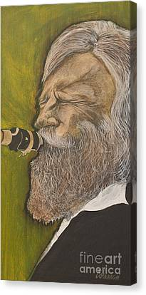 Gerry Mulligan Canvas Print by Dave Coleman
