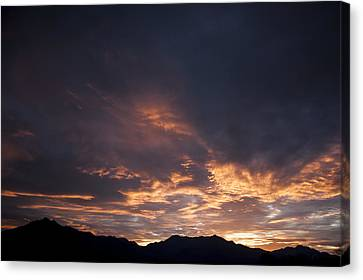 Gila River Indian Sunset Canvas Print by Anthony Citro