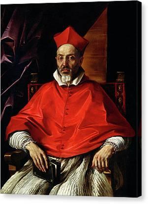 Giovanni Francesco Barbieri, Called Guercino Canvas Print by Litz Collection
