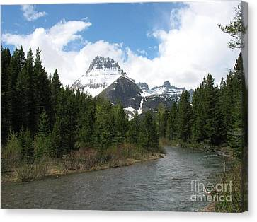 Glacier National Park Canvas Print by Russell Christie