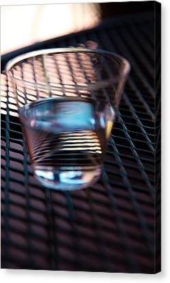 Glass Half Full Canvas Print by David Patterson
