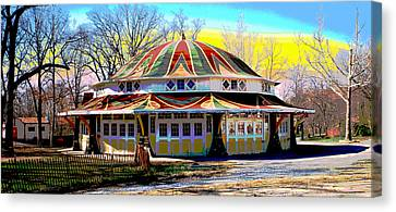 Glen Echo Park Canvas Print