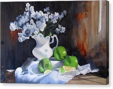 Glenda's Still Life Canvas Print