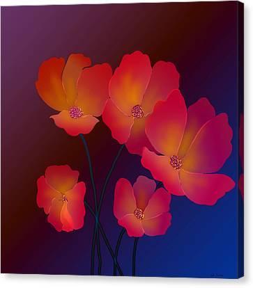 Glorious Canvas Print by Latha Gokuldas Panicker