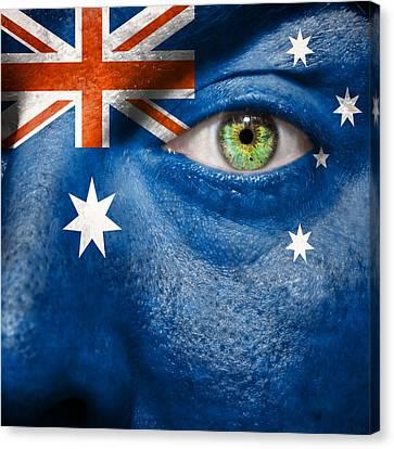 Go Australia Canvas Print by Semmick Photo