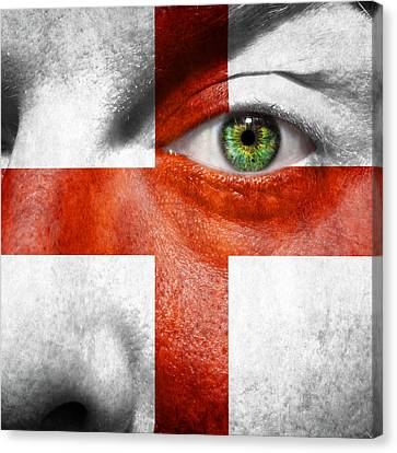 St George Canvas Print - Go England by Semmick Photo