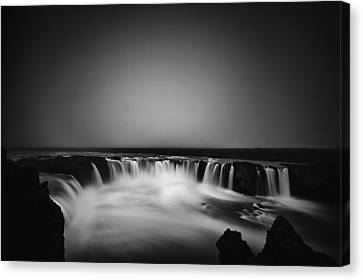 Godafoss Canvas Print by Frodi Brinks