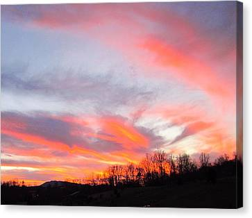 God's Work Canvas Print