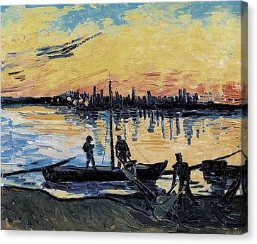 Gogh, Vincent Van 1853-1890. The Canvas Print by Everett