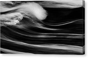 Goin With The Flow Canvas Print by Bill Wakeley