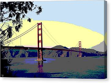 Golden Gate Bridge Canvas Print by Charles Shoup
