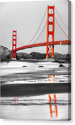 Golden Gate - San Francisco - California - Usa Canvas Print