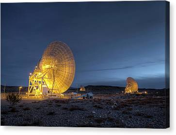 Goldstone Observatory Canvas Print