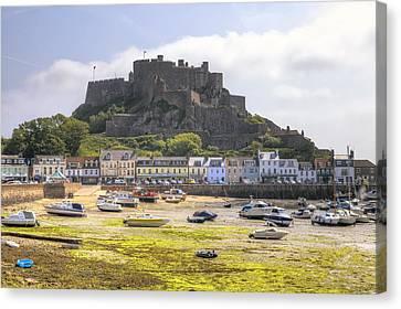 Gorey Castle - Jersey Canvas Print