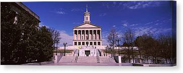 Government Building In A City Canvas Print