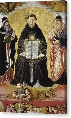 1420 Canvas Print - Gozzoli, Benozzo Di Lese, Called by Everett