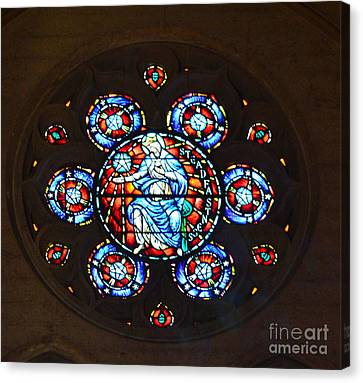 Grace Cathedral Canvas Print by Dean Ferreira