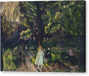 Gramercy Park Canvas Print by Celestial Images