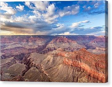 Grand Canyon Scenery Canvas Print by Pierre Leclerc Photography