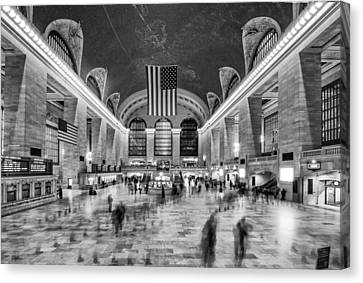 Grand Central Terminal Canvas Print by James Howe