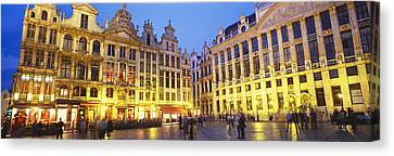 Grand Place, Brussels, Belgium Canvas Print by Panoramic Images