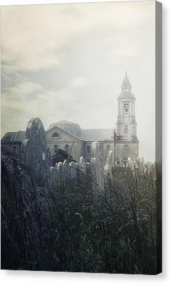 Graveyard Canvas Print by Joana Kruse