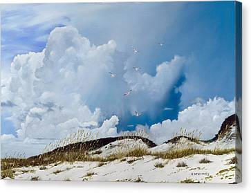 Grayton Beach Canvas Print