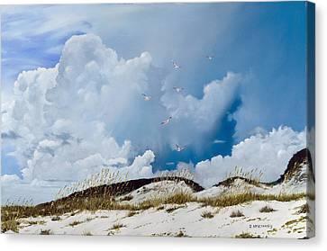 Grayton Beach Canvas Print by Rick McKinney