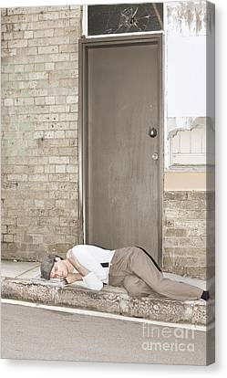 Great Depression Eviction Canvas Print
