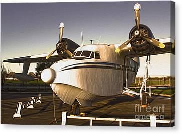 Grumman G-64 Albatross Uh16 Canvas Print by Gregory Dyer