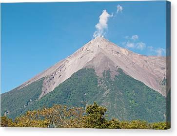 Guatemala, Antigua Canvas Print by Michael Defreitas