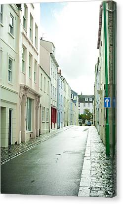 Guernsey Street Canvas Print by Tom Gowanlock