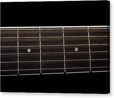 Guitar Strings Canvas Print by Science Photo Library