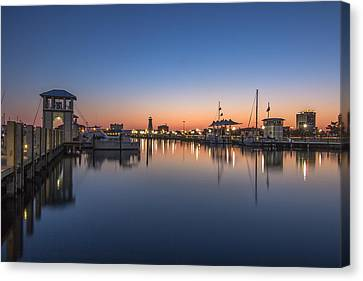 Gulfport Harbor Canvas Print by Brian Wright