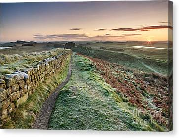 Hadrian's Wall Canvas Print by Rod McLean