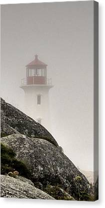 Halifax Fog Canvas Print by Jennifer Wheatley Wolf