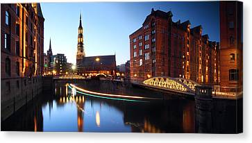 Hamburg Speicherstadt Canvas Print by Marc Huebner