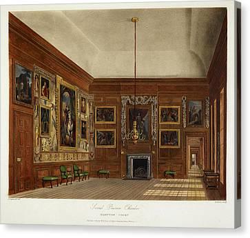 Hampton Court Canvas Print by British Library