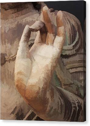Hand Of Buddha C2014 Canvas Print