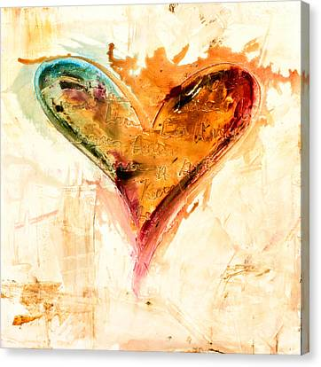 Happiness Is Inside Canvas Print