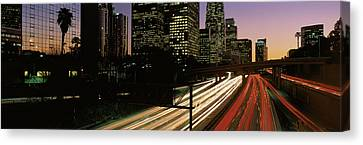 Harbor Freeway Los Angeles Ca Canvas Print