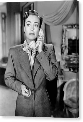 1950 Movies Canvas Print - Harriet Craig, Joan Crawford, 1950 by Everett