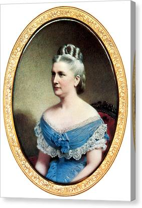 First Ladies Canvas Print - Harriet Lane, First Lady by Science Source