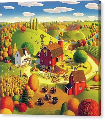 Harvest Bounty Canvas Print by Robin Moline