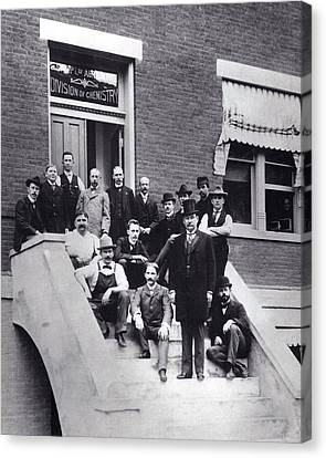 Harvey Wiley And Colleagues Canvas Print