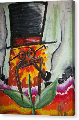 Hat Magic Canvas Print by Jake Huenink