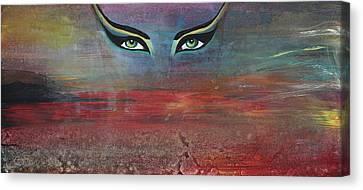Hathor Canvas Print by Stacey Austin