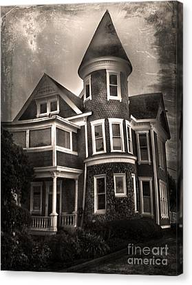 Haunted House Canvas Print by Gregory Dyer