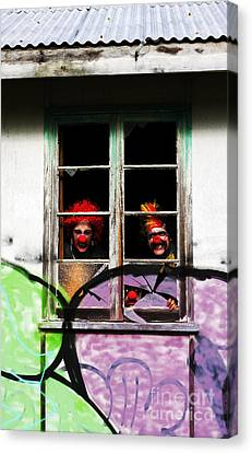 Ghostly Canvas Print - Haunted House Of Horrors by Jorgo Photography - Wall Art Gallery